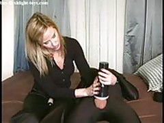 Fleshlight, mistress and her slave