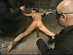 Julie night tied face down,