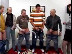 Mom Fucked By Four Men (mature milf gangbang)<br>