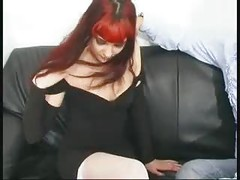 CUTE TEEN REDHEAD FRENCH GOTH ANALYSED  -B$R