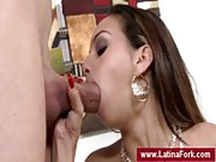 Oral sex with a latina