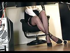 Secretary underdesk