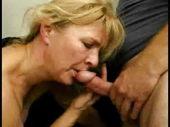 Mature blond squealing whore 2