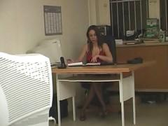 Beurette Soumise Au Bureau...Rachida 's Office-F70
