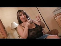 Big tits milf fucking two