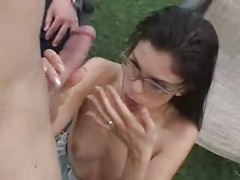 Watching his Skinny Wife Assfucked ...F70