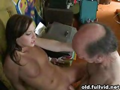 Old Man Hammers Teen<br>