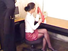 Boss Chloroform and Rape her Secretary in Office<br>
