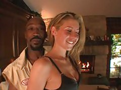 Lisa Marie sucks on a black