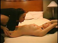 Two girls latex oil