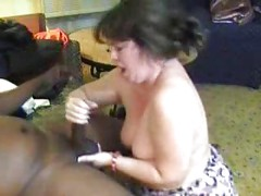 My Swinger Wife With A Black Man ( mature mom mother amateur milf granny homemade bbw cuckold cumshot interracial ebony )<br>