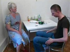 Mother fucks with own son at