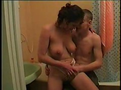 Incest with elder sister in bathroom<br>