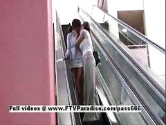 Miyu and Danielle from ftv girls,  lesbians in public<br>
