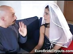 Veronica at Euro Bride Tryouts