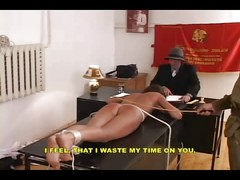 Young russain girl punished -
