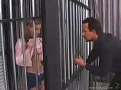 Beautiful Young Aurora Snow Fucked Behind Bars