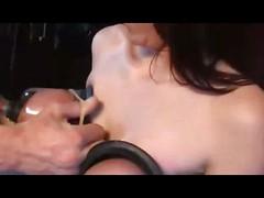 Lactation, verry hard BDSM