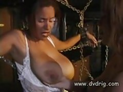 Wonderful Dominatrix Bianca Delmar Ties Big Tittied Submissi