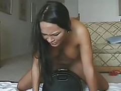 Orgasm on Sybian