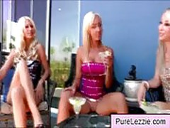 Blonde lesbian chicks showing