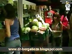 Argentina dandose con Pepinos