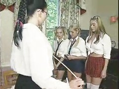 English schoolgirls are