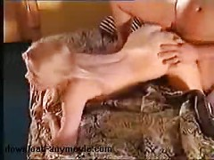 Blonde housewife pussy plowed<br>