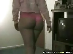 Big ass and panties