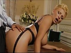 Serena Dark make anal with italian pornstar Silvio Evangelis
