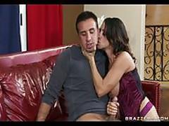 Horny Big Titted Latina MILF