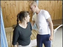 MATURE MOM FUCKED IN SAUNA  -B$R