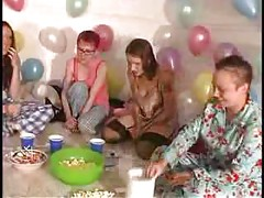 Amateur funny party<br>
