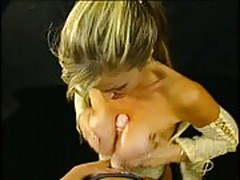 Titty fucking with Janine