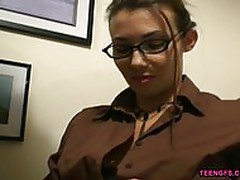 Naughty Secretary give head