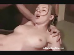 Slender Blonde Hardcore