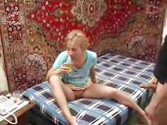 Drunk Russian Teen Girl<br>
