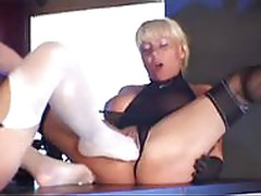 Hot stocking sex FFM