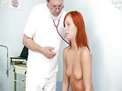 Redhead girl pussy