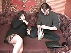 Drunk russian whore