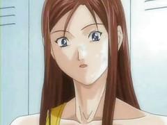 Anime Hentai Babes Worshiping Cock<br>
