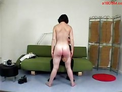 Girl Getting Her Ass Spanked