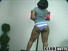 ClubButts - Infinity in her panties and Da Pole