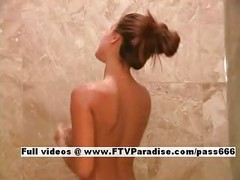 Andrea from ftv girls,  lusty girl taking a shower<br>