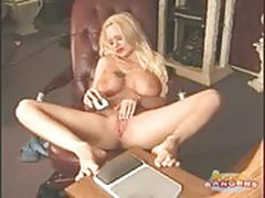 Francine - Busty Chick Masturbating