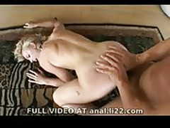 Hot Blonde Fucked Anal