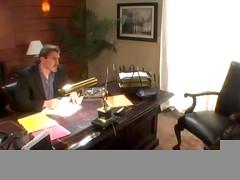 Boss fucks his secretary (vm)