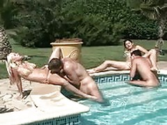 Lucie Theodorova fucked by the pool
