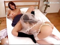 Busty Bride Licking Pussy Getting Licked Fingered On The Bed<br>
