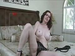 Hot Milf Mae Victoria fucking young guy